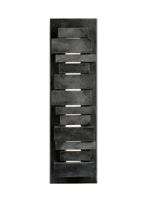 "Murray Feiss OL11201DWZ Ledgend Small LED 17.5"" Sconce - Dark Weathered Zinc"
