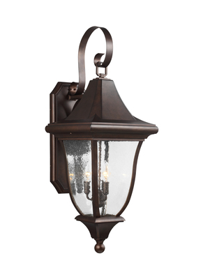 Murray Feiss OL13102PTBZ Oakmont 3 Light Large Lantern - Patina Bronze