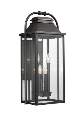 Murray Feiss OL13202ANBZ Wellsworth 4 - Light Outdoor Wall Lantern Antique Bronze