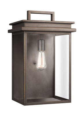 Murray Feiss OL13603ANBZ Glenview 1 Light Outdoor Wall Lantern - Antique Bronze