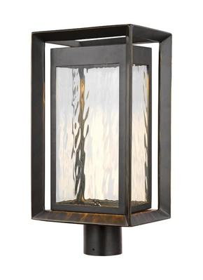 Murray Feiss OL13707ANBZ-L1 Urbandale 1 - Light Outdoor LED Post Lantern Antique Bronze - StoneStrong