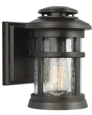 Murray Feiss OL14300ANBZ Newport Extra Small 1 Light Antique Bronze Outdoor Lantern - StoneStrong