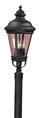 Murray Feiss OL1908BK 4- Light Post