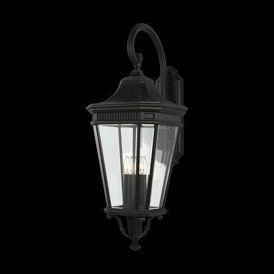 Murray Feiss OL5405BK Cotswold Lane Extra Large 4 Light Lantern - Black