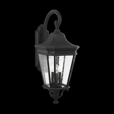 Murray Feiss OL5424BK Cotswold Lane 3 Light Wall Lantern - Black