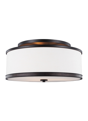 Murray Feiss SF337ORB 3 - Light Indoor Semi-Flush Mount