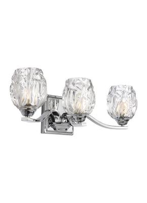 Murray Feiss VS22703CH-L1  Kalli 3 Light Vanity - Chrome
